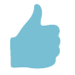 a picture of a thumbs up symbol, link opens new PDF browser window