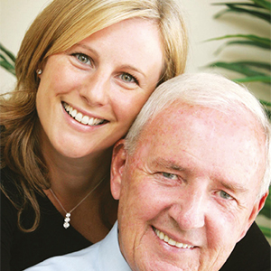 a picture of a woman with her elderly father, link opens new PDF browser window