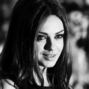 picture of Mila Kunis, link opens new PDF browser window